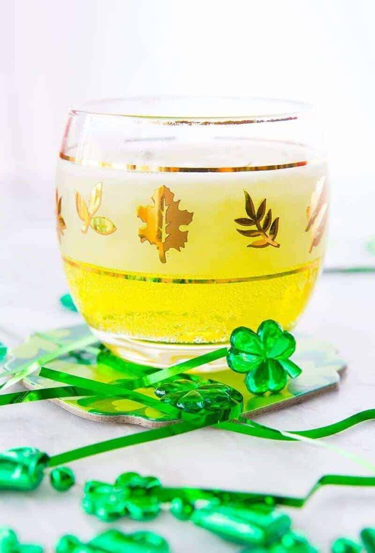 Irish Sour - St. Patrick's Day Cocktail