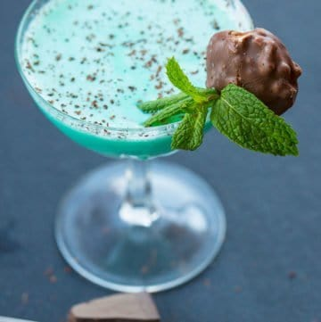 The Grasshopper Cocktail Drink