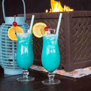 The Blue Lagoon Cocktail
