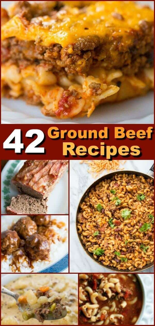 42 Tried & Tested Easy Ground Beef recipes