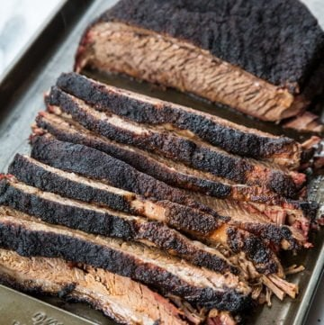 Dry Rub Smoked Brisket Recipe