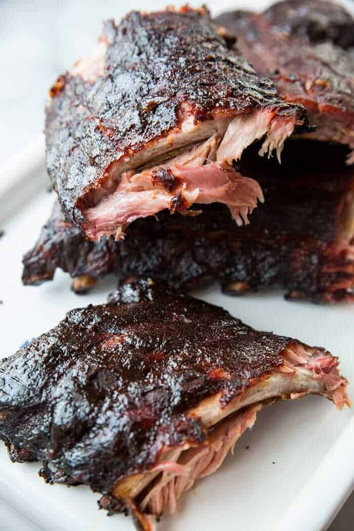 Sweet & Smoky Whisky Smoked Ribs