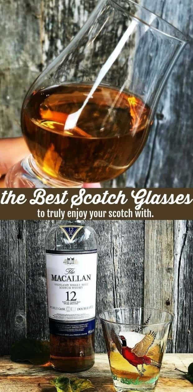 The Best Scotch Glasses to Truly Enjoy your Scotch With by @kitchenmagpie. #scotch #whisky #whiskey #glasses #liquor #dram