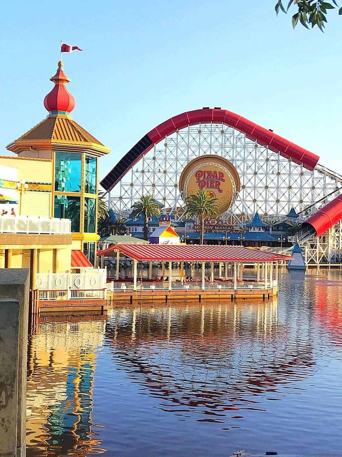 Pixar Pier and Paradise Gardens Park
