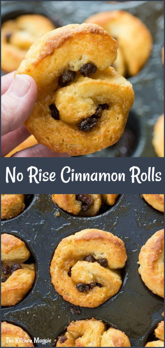 Easy Cinnamon Buns Recipe, no yeast and super fast! F#cinnamon #cinnamonrolls #noyeast #cinnamonbuns
