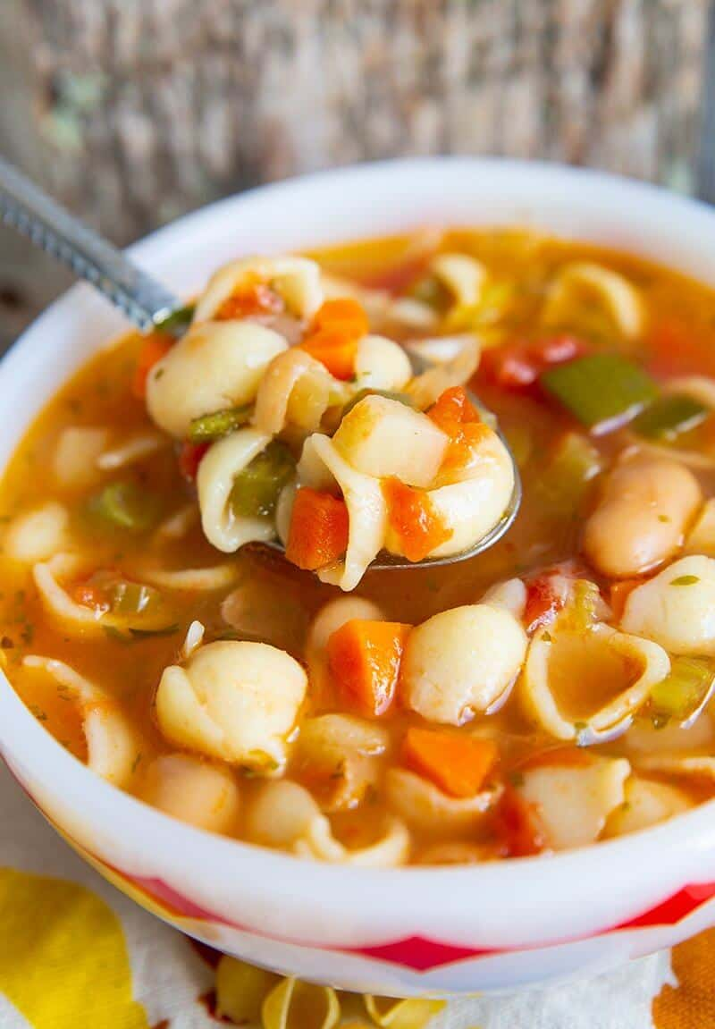 Classic Homemade Minestrone Soup Recipe The Kitchen Magpie