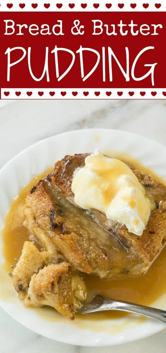 Decadent and delicious bread pudding using raisin bread that has caramel sauce drizzled over it. I think we can call this breakfast! #breadpudding #pudding #dessert #breakfast #raisinbread #caramel