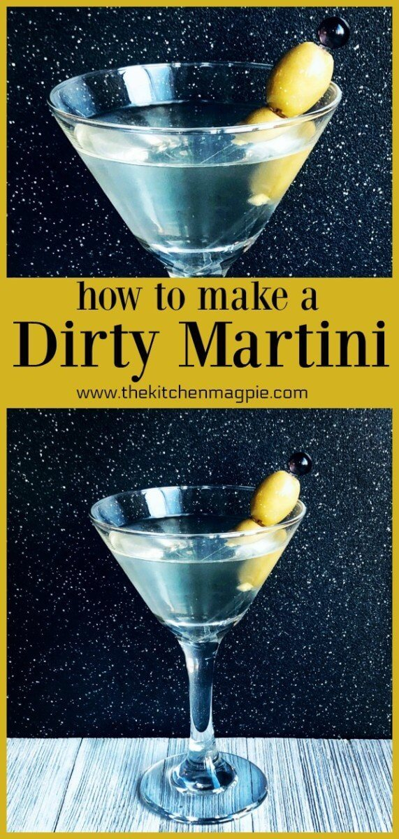 How-to-make-a-Dirty-Martini How to Make a Dirty Martini