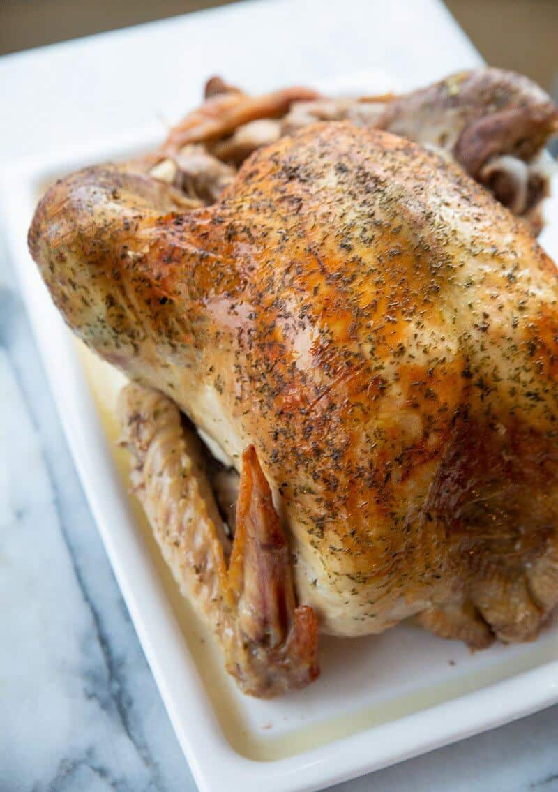 How To Cook The Juiciest Most Tender Oven Roast Turkey The Kitchen Magpie