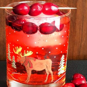 cranberry rum ginger ale - 1
