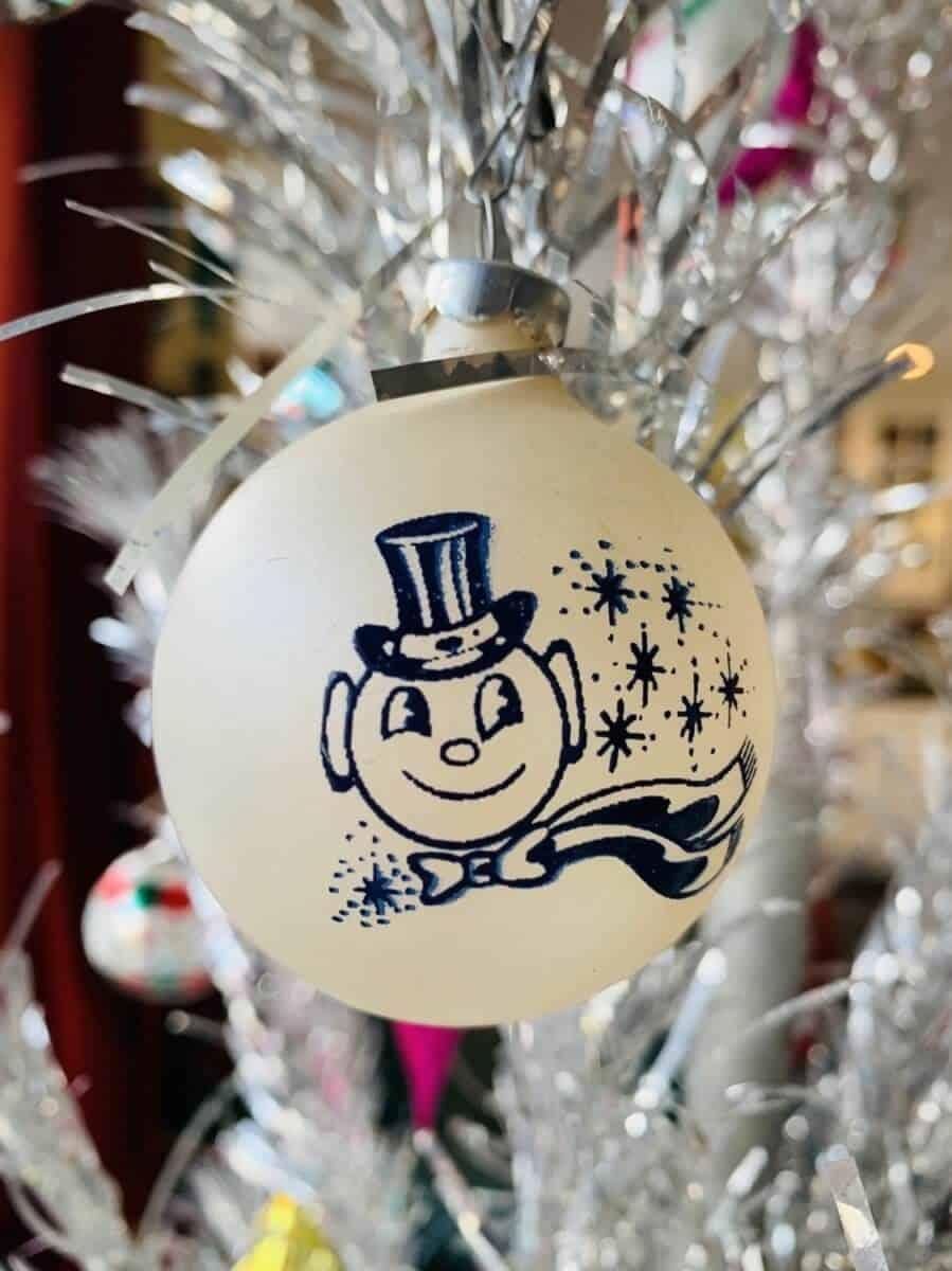 vintage Jack Frost Christmas ornament