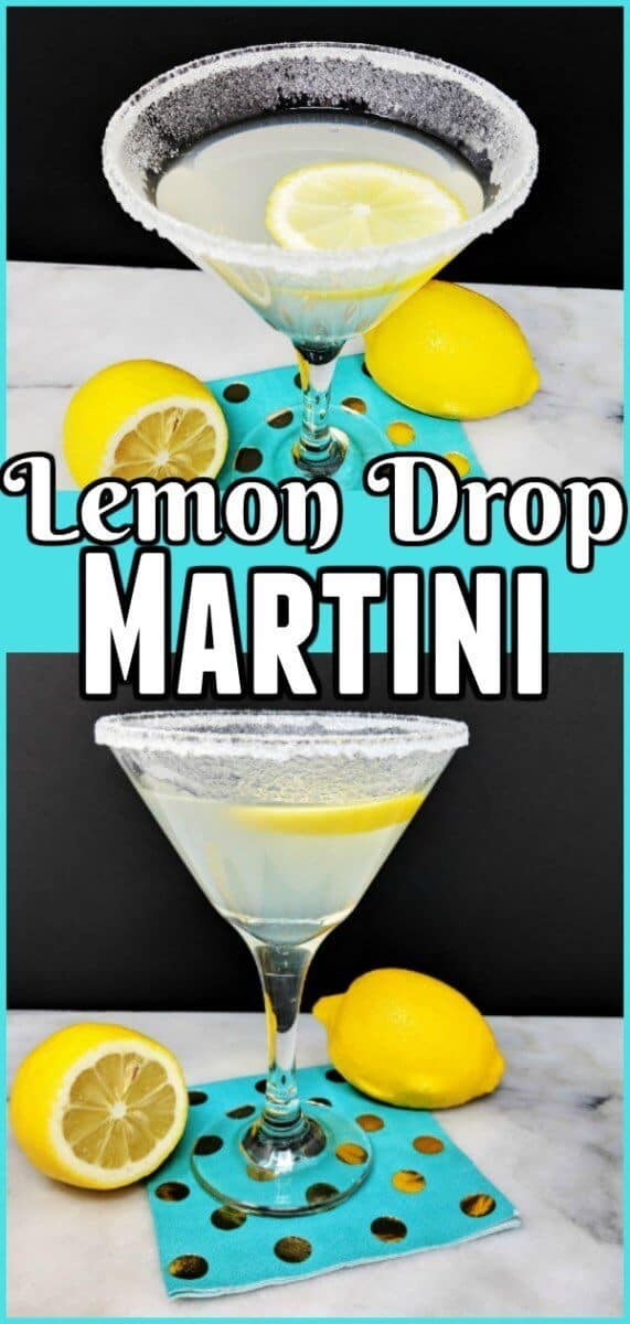 How to make a Lemon Drop Martini #martini #lemon #cocktail #recipe