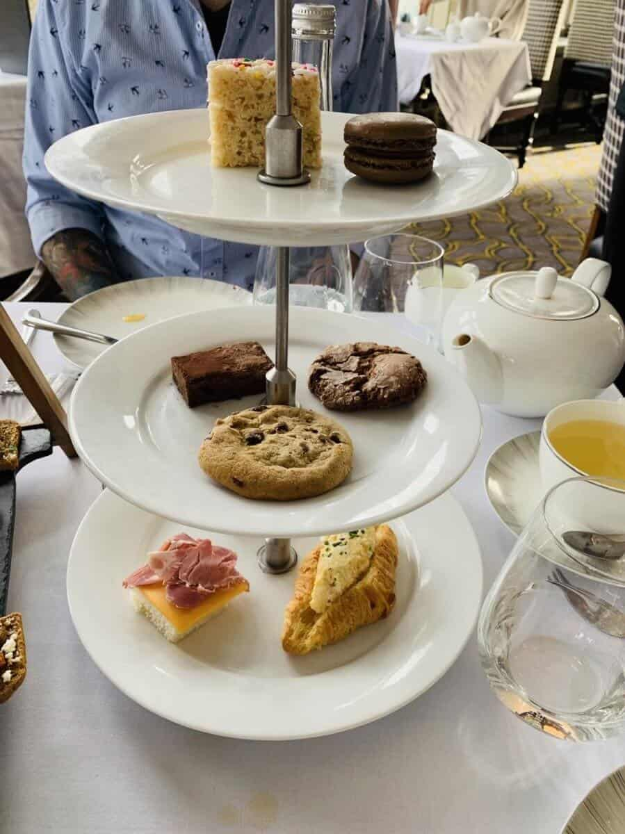 Children's Tea at the Fairmont Banff Springs