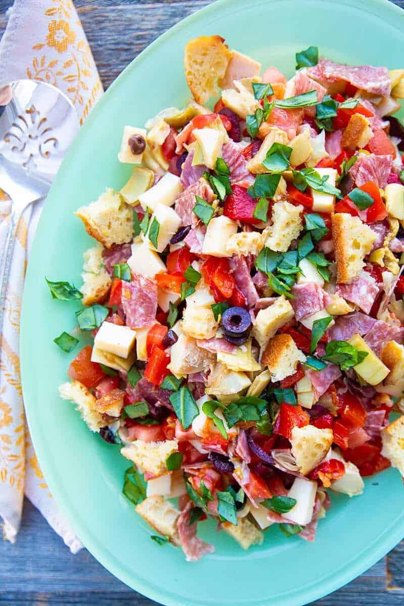 Homemade Antipasto Salad   The Kitchen