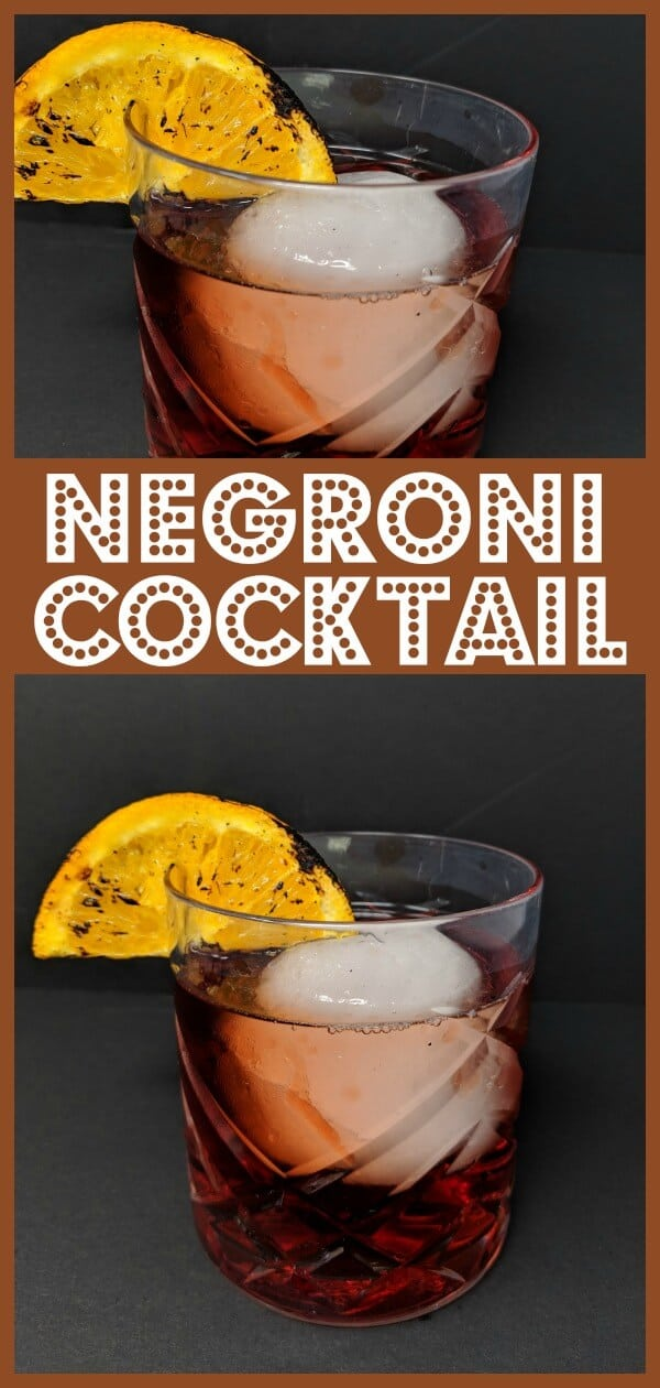 The Unmatched Negroni Cocktail #negroni #cocktail #drink #campari #gin #vermouth