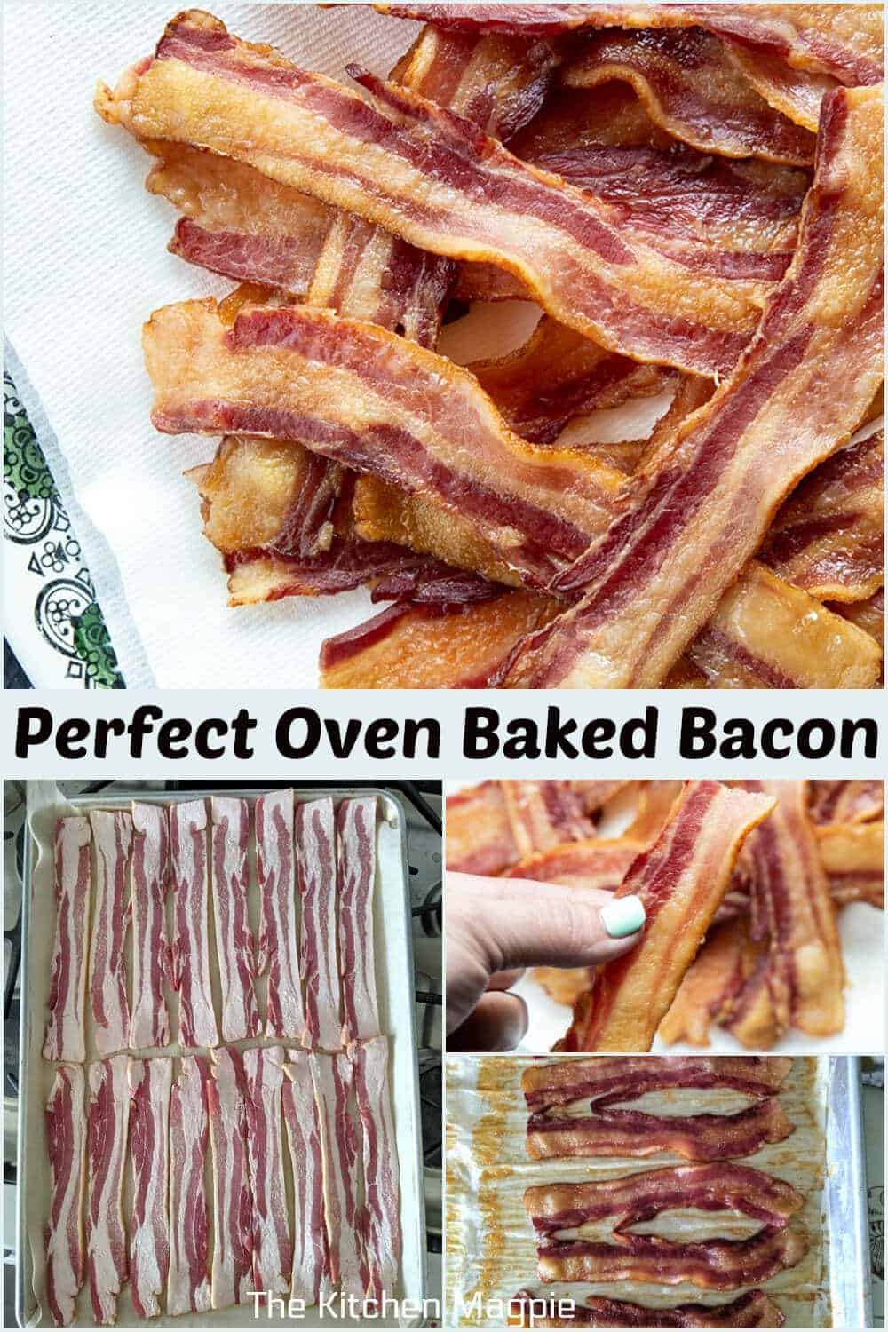 Step by step how to make deliciously crispy bacon in the oven - and what type of bacon is the best bang for your hard earned buck!