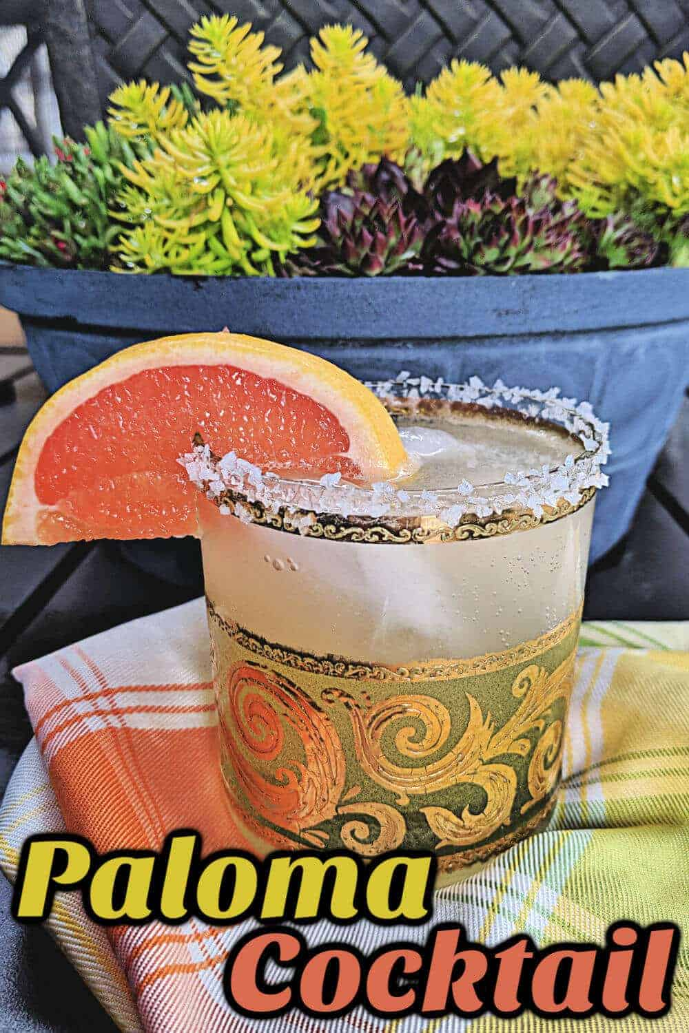 Paloma Cocktail #paloma #cocktail #grapefruit #tequila #drink