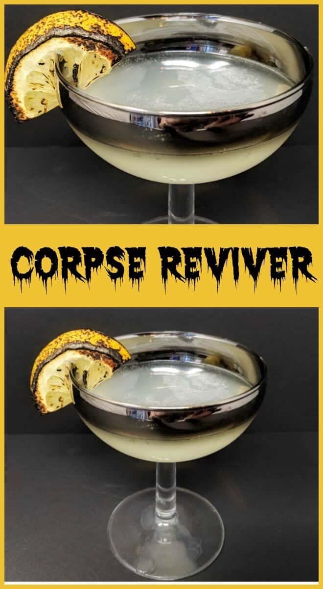Corpse Reviver by @TheKitchenMagpie - #cocktails #cocktail #gin #drink
