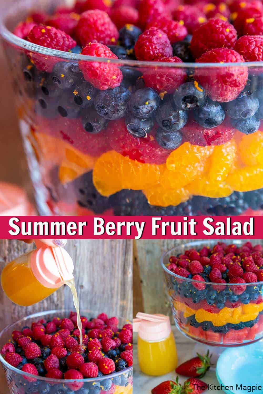 This summer fruit salad is so easy to customize with whatever fruit you have on hand and uses honey instead of sugar for the sweet citrus dressing. It will be a new family favorite!