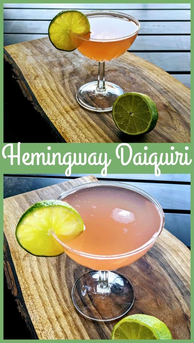Hemingway Daiquiri - #hemingway #daiquiri #cocktail #rum