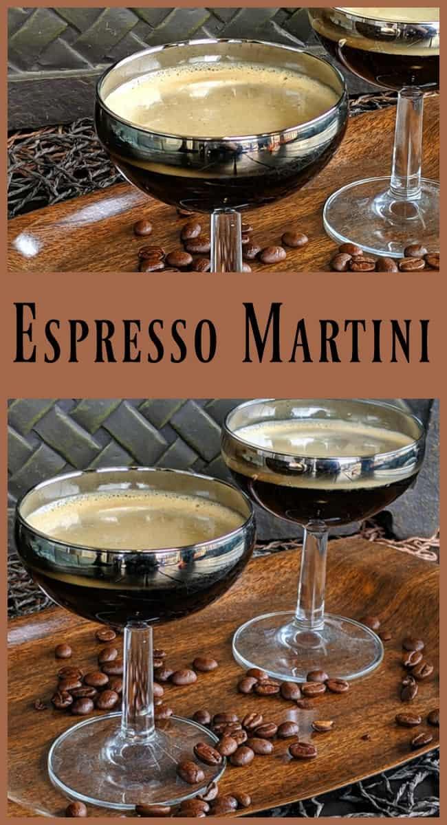 Espresso Martini by @kitchenmagpie #espresso #martini #cocktail #vodka #kahlua