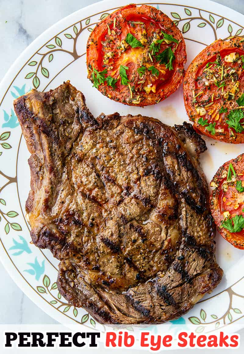 Easy And Delicious Grilled Rib Eye Steak The Kitchen Magpie