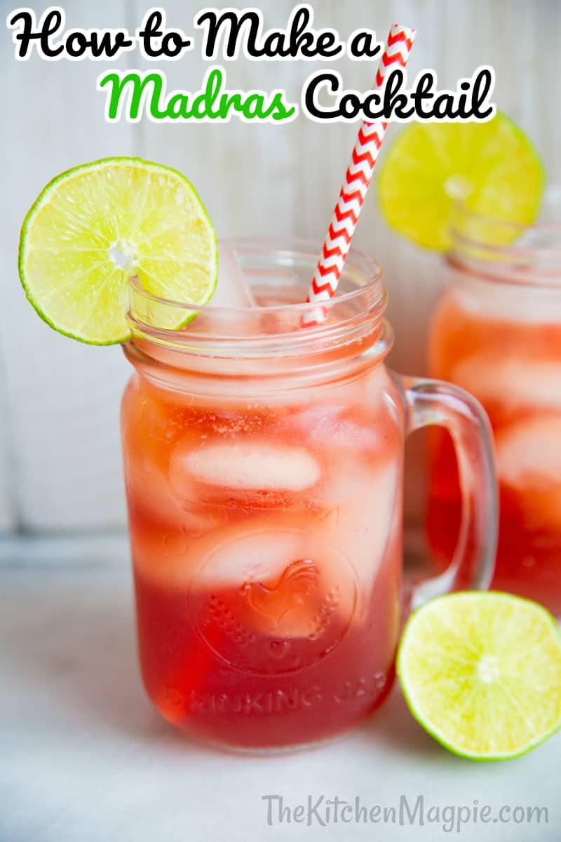 madras drink close-up