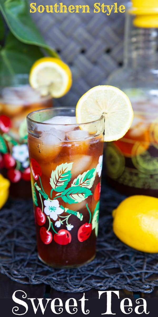 Sweet and perfect for sipping, my trick to making this delicious Southern sweet tea has you drinking it right away - without any refrigeration time!
