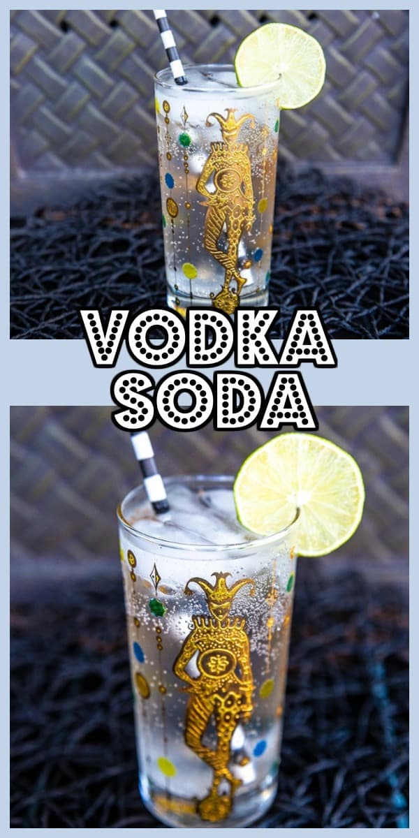 Vodka Soda - @thekitchenmagpie #vodka #cocktail #soda