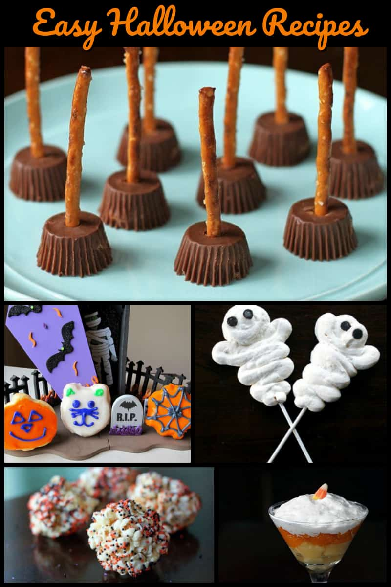 Simple Easy Halloween Recipes The Kitchen Magpie