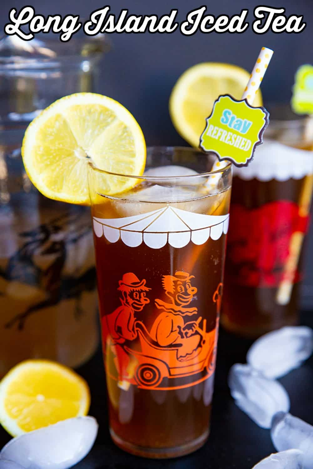 Long Island Iced Tea Pin