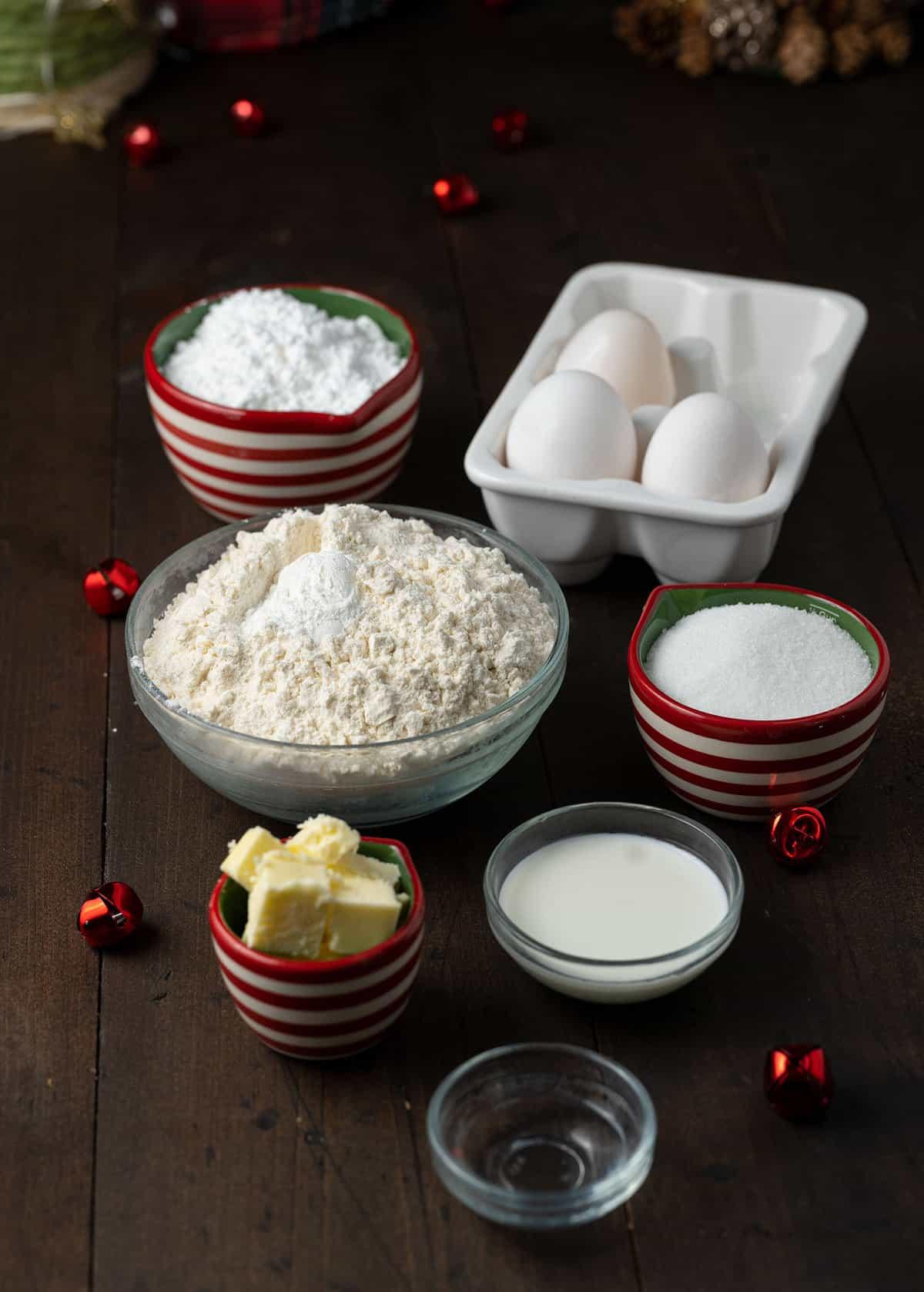 Italian Christmas cookie ingredients