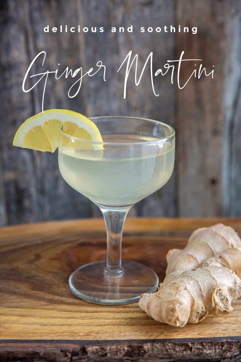 Ginger Martini Pin