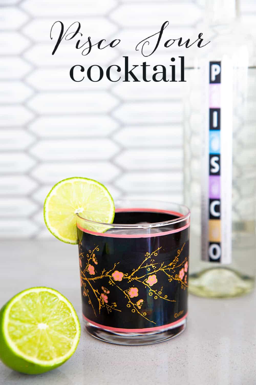 Pisco Sour Cocktail - Pinterest