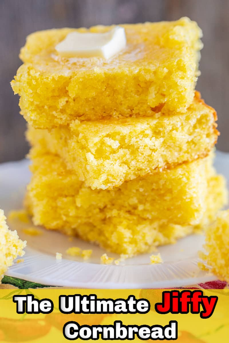 It's so easy to make the best Jiffy Cornbread you'll ever eat, simply take that box of Jiffy that you have in your pantry and jazz it up with a few simple ingredients that you will already have in your fridge