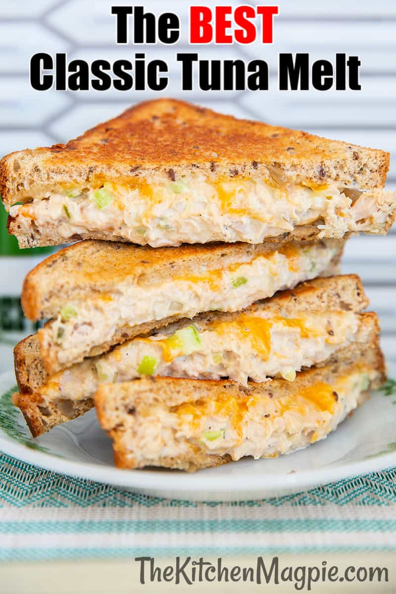 Nothing beats a hot, cheesy tuna melt sandwich for a comfort food lunch or dinner, and we have a few family secrets to making the best tuna sandwich ever!