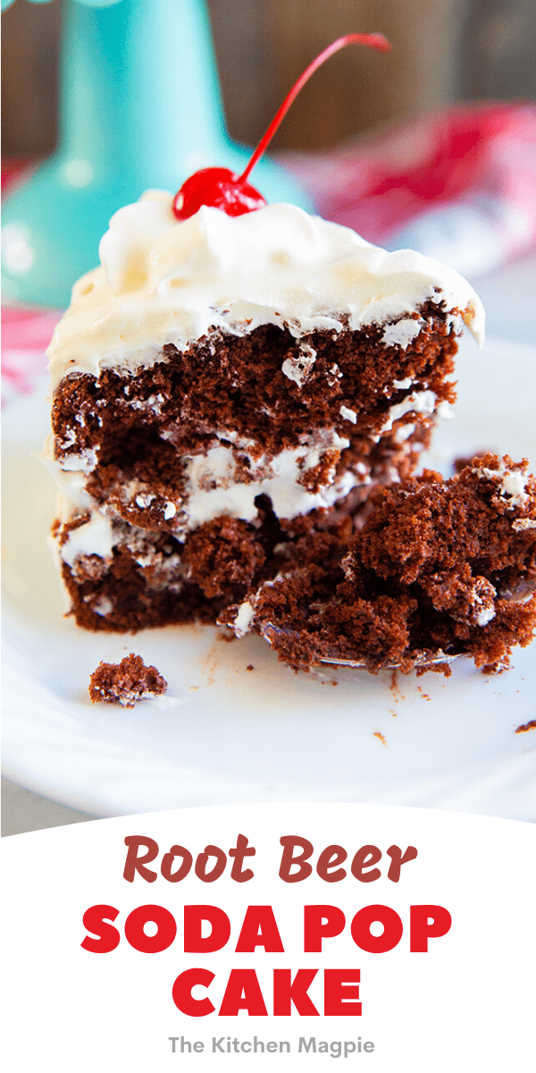 Soda cakes are the BEST retro cake recipe around when it comes down to saving time. All you need is a box of cake mix and a can of soda pop - the combinations are limitless!