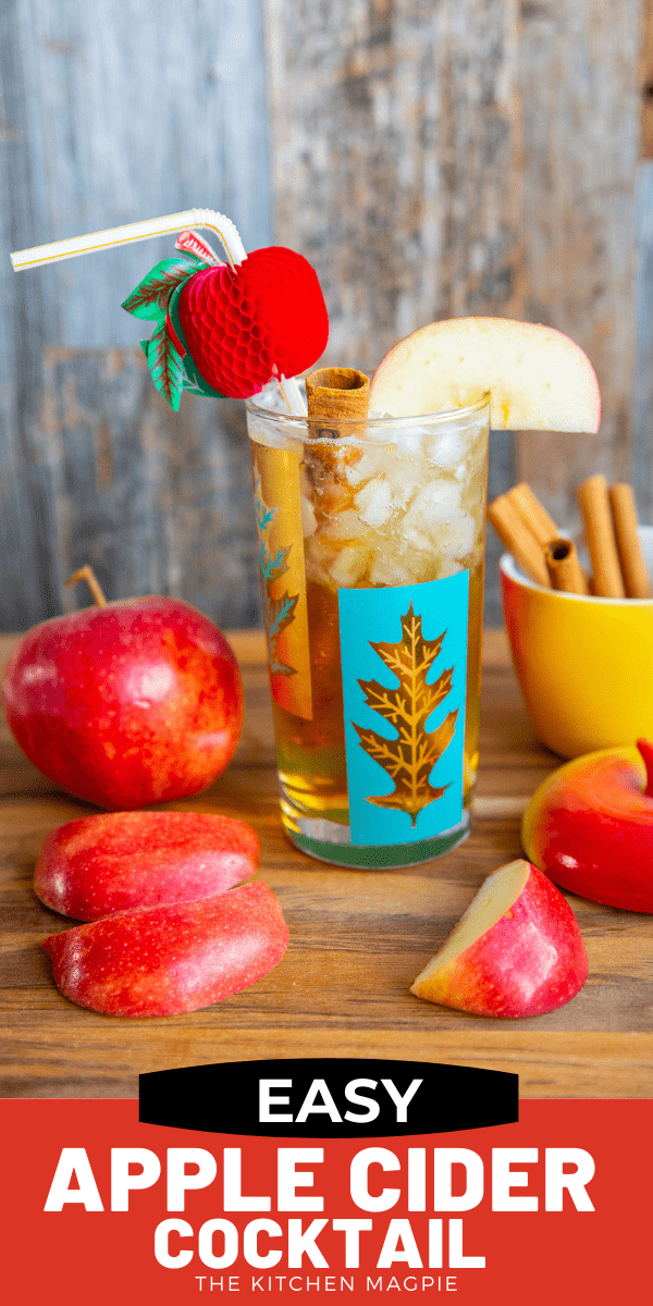 Easy Apple Cider Cocktail