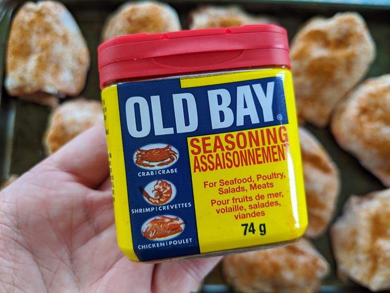 can of Old Bay seasoniong