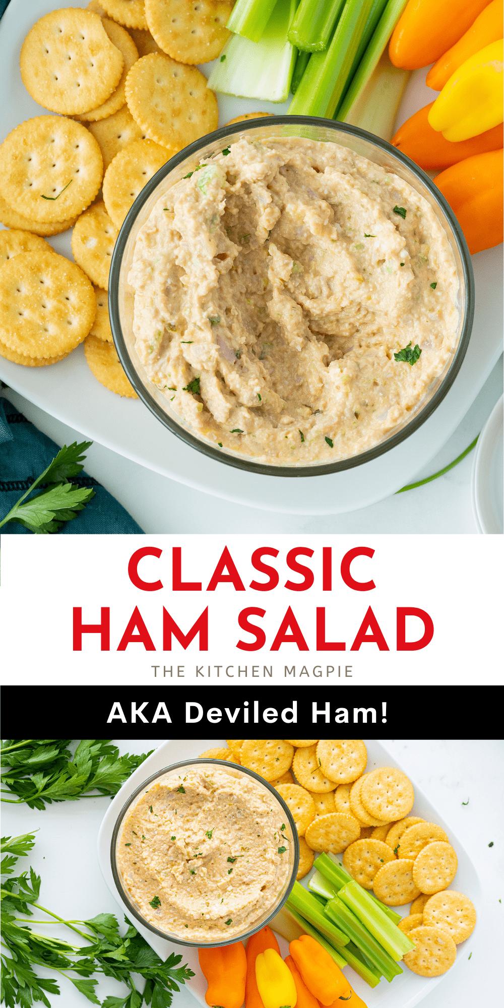Ham Salad (Deviled Ham)