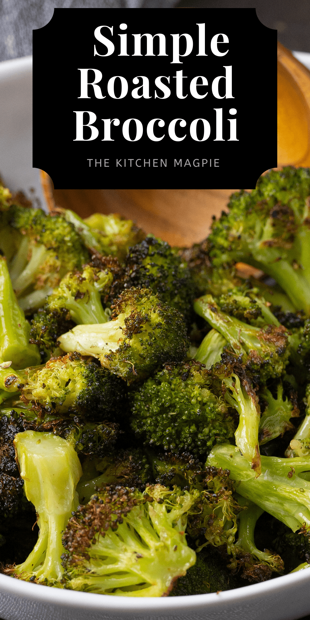 Roasted broccoli is a fast, easy and delicious healthy side dish that is easily customized to your liking with different seasonings!