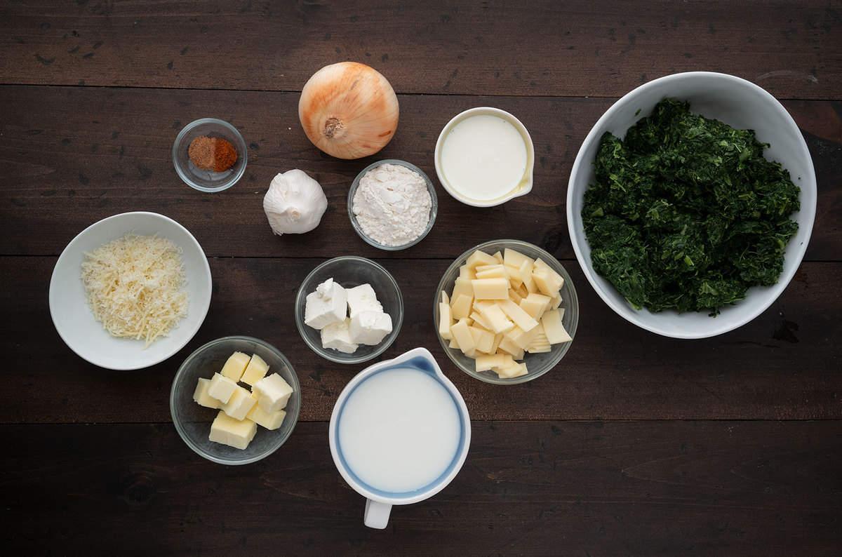 spinach casserole ingredients