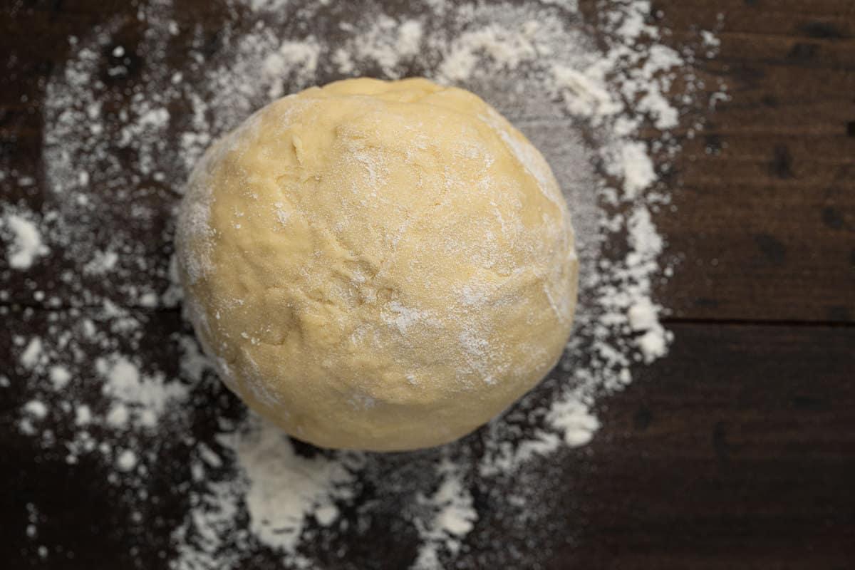 egg noodle dough