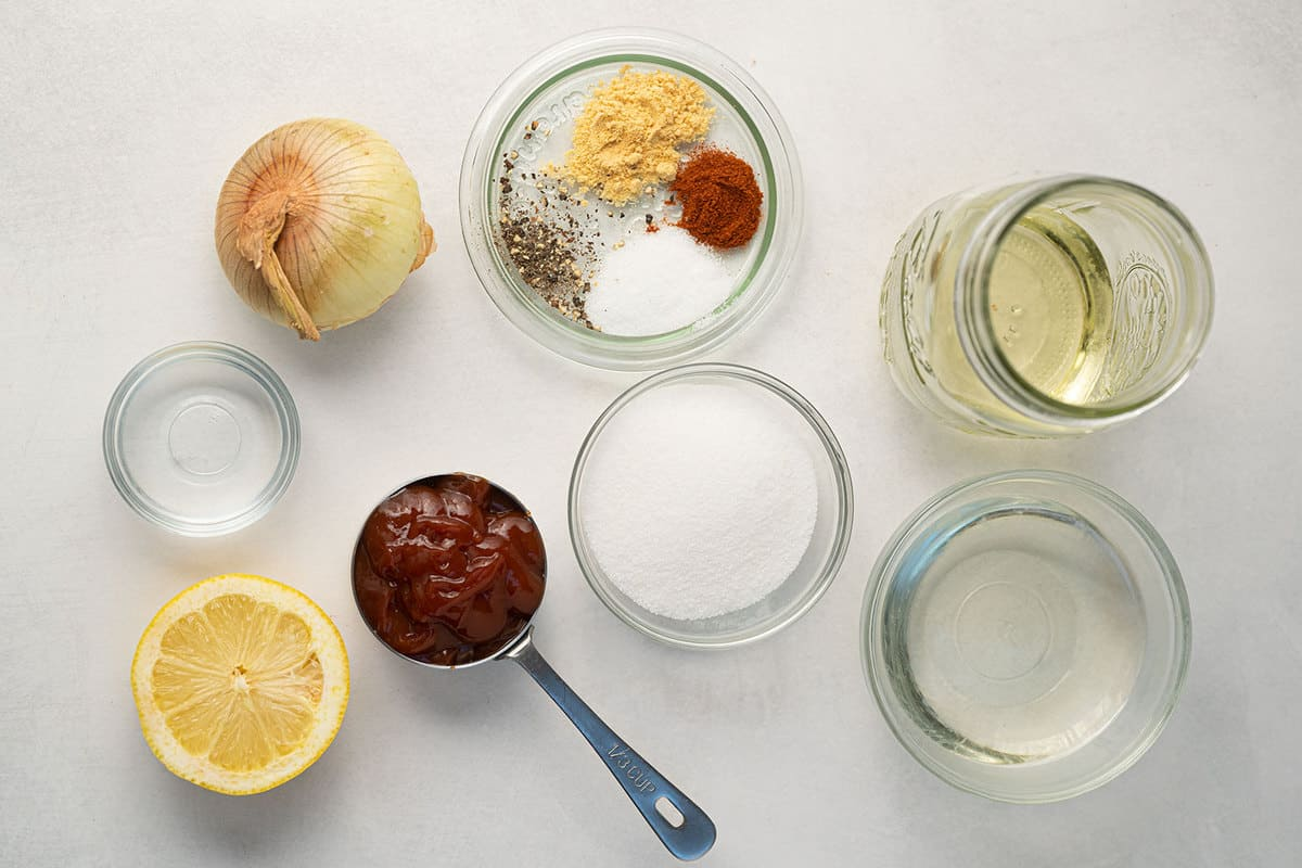French Dressing ingredients