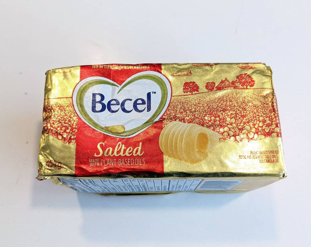 Becel salted margarine