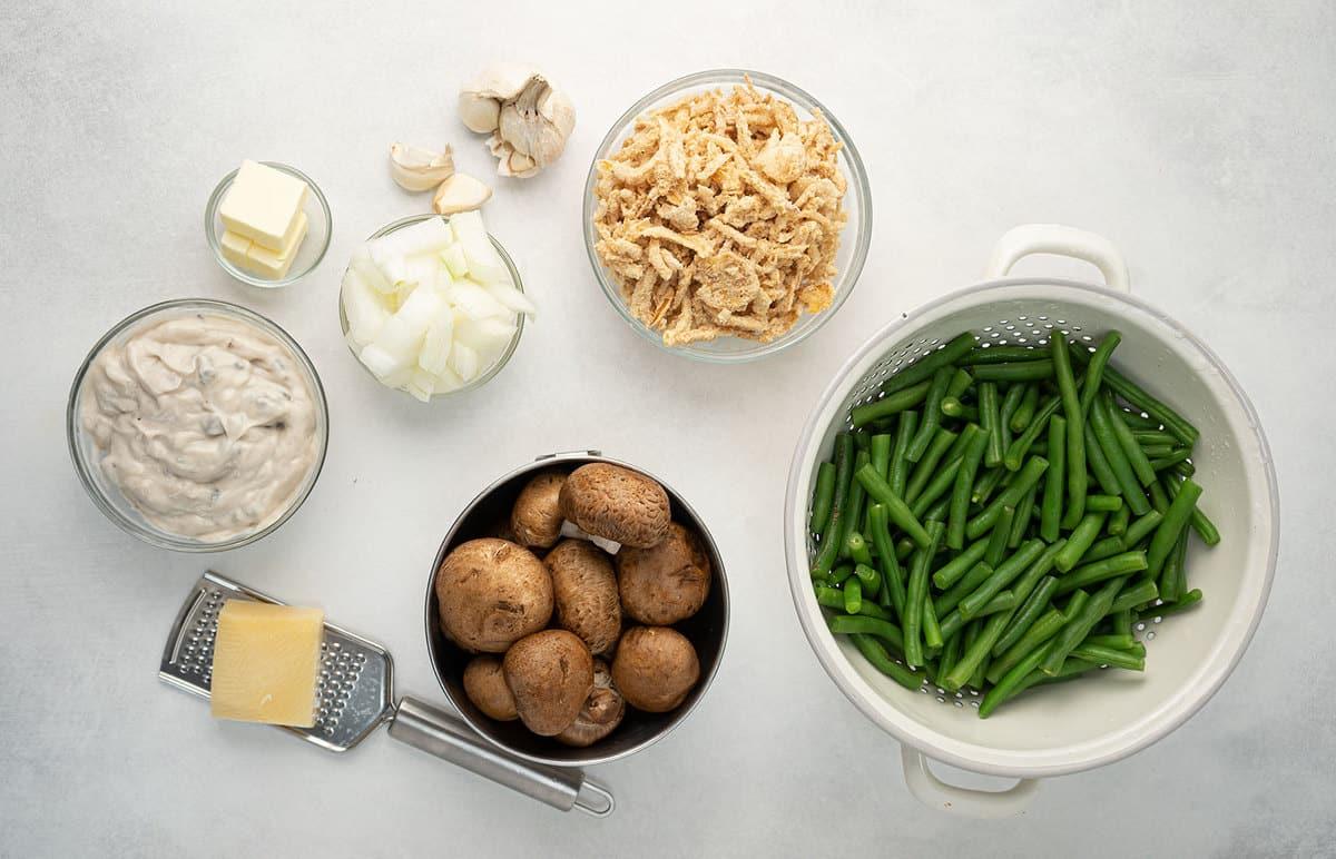 green bean casserole ingredients