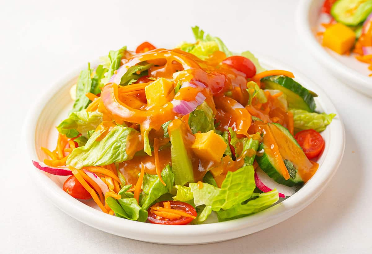 The Best Basic Tossed Salad The Kitchen Magpie