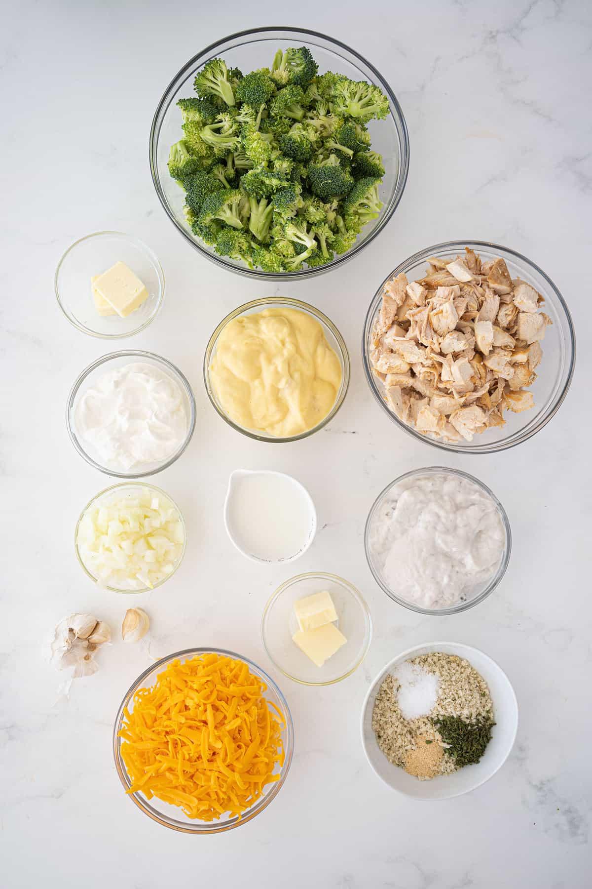 ingredients for chicken divan