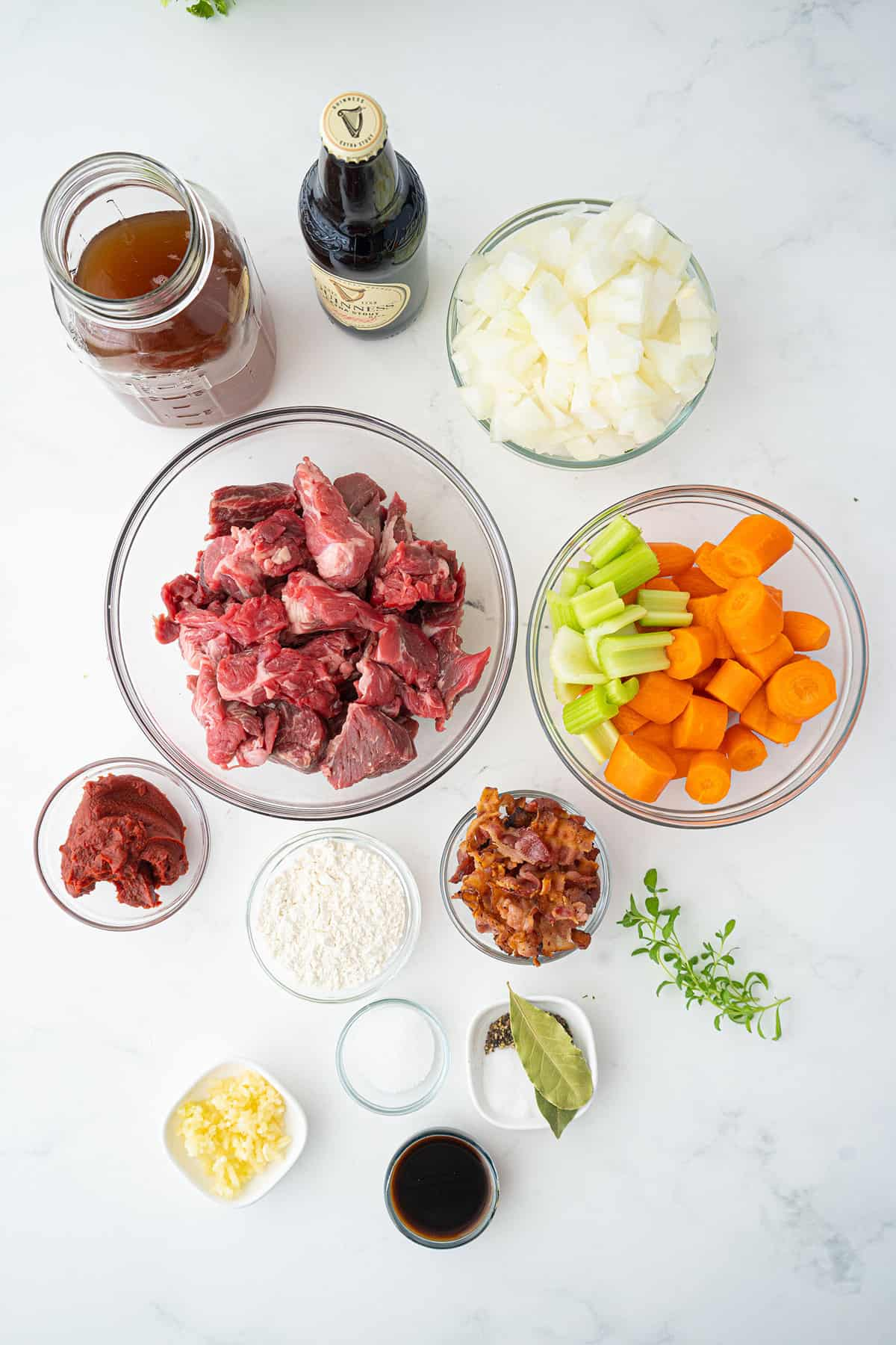 Guinness® Irish Stew ingredients