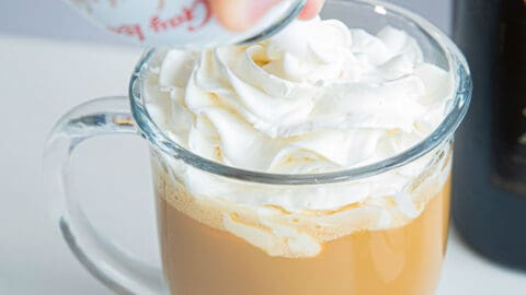 Top with Whipped Cream.